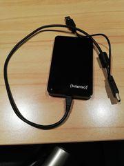 Festplatte Intenso Memory Case schwarz