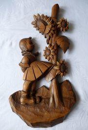 Hummel seltene Skulptur geschnitzt Erzgebirge
