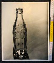 Antike Werbefotografie Coca-Cola Flache 24