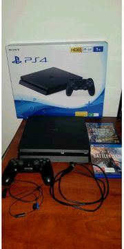 Playstation 4 Slim1TB wie neu
