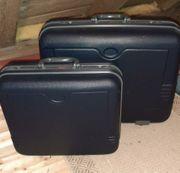 2 x Hartschalenkoffer Reisekoffer blau