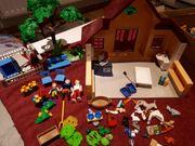 Playmobil Tierarztpraxis mit Gehegen und