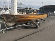 Rarität Mahagoni Motorboot Theke Bar