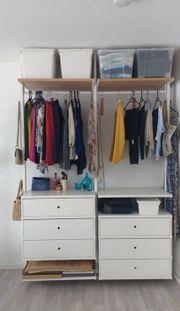 IKEA Elvarli Kleiderschrank 175x51 Höhe