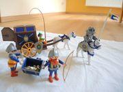 Playmobil Königsritter Schatztransport Nr 3314