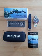 DEEP BLUE PROFI AUTOMATIK TAUCHERUHR