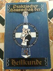 Uraltes Buch Praktischer Hausschatz der