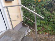 Handlauf Geländer in VA oder