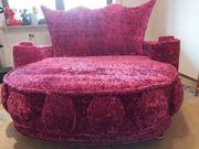 Designer Sofa Loveseat Bretz Samtstoff