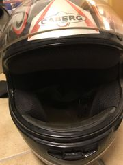 Motorrad Helm mit Nierenschutz