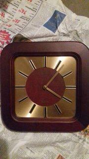 Tisch Wanduhr Quarzuhr Uhr Beistelltisch