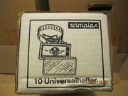 Universalhalter mit Spannband Edelstahl V2A