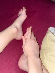 Fuß- und Handbilder