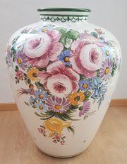 große schwere Bodenvase Vase Ulmer