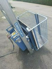 Geda Schrägaufzug Baulift Bauaufzug Leiteraufzug