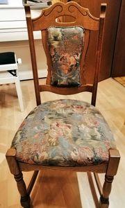 Stuhl Eiche rustikal 3 Stück