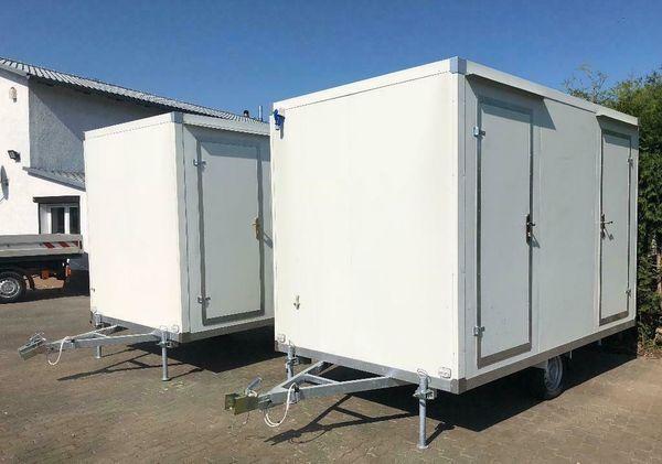 WC Wagen-Toilettenwagen mit Doppel WC-
