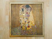 Gustav Klimt Der Kuss komplett