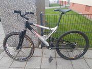 Vollgefedertes Mountainbike 26 Fahrrad Aluminiumrahmen
