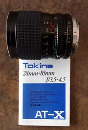 Tokina Objektiv AT-X 28 -85