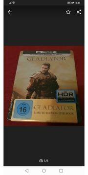 Gladiator 4k Steelbook Neu