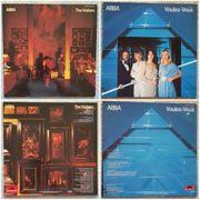 2 ABBA Schallplatten LPs von