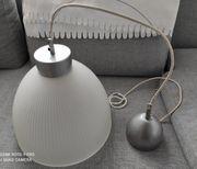 Hängeleuchte aus Glas Lampe Leuchtenglas
