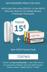 Rabatt Code T297W3 15 - EUR