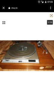 Suche alten Sony Plattenspieler mit