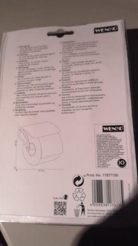 Toilettenpapierhalter von Wenko Neu: Kleinanzeigen aus Seubersdorf Ittelhofen - Rubrik Bad, Einrichtung und Geräte