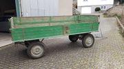 Verkaufe gut erhaltenen Traktor- Anhänger