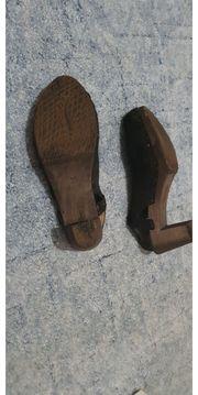 Ungewaschene High Heels