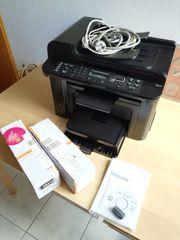 HP-Drucker gebr LaserJet 1536dnf MFP