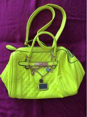 Neongelbe Handtasche von Just Lili