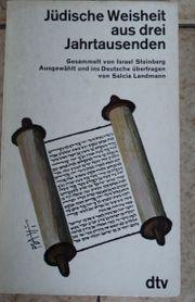 Jüdische Weisheit aus drei Jahrtausenden