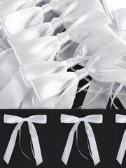 50 x Antennenschleifen Schleifen Hochzeitsdeko