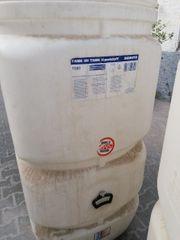 2 Kunststoff Öl Tanks 1500L