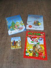 versch Kinder Weihnachtsbücher