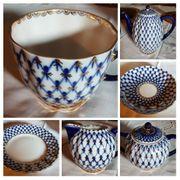 LOMONOSOV Kaffeegeschirr Set für 6