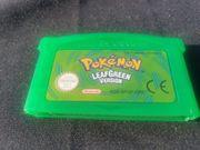 Pokemon Blattgrüne Version Gameboy Advance