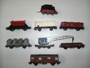 13 Märklin H0 Tender Güterwagen