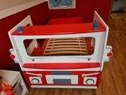 Kinder Feuerwehrauto Bett