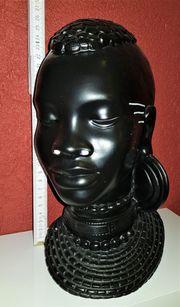 Afrikanische Büste Maske Skulptur Afrika