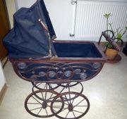 Victorianischer Puppenwagen ca 100 Jahre