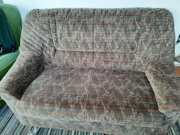 Sofa, komplette Garnitur, Stoff, zu verschenken