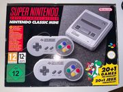 Super Nintendo Classic Mini in