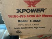 Water Mitigation Package Xpower XD-125