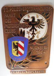 Erinnerungsplakette ADAC Nürnberg