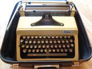 Koffer-Schreibmaschine ERIKA