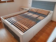 Bett inkl Lattenrost neuwertig fast